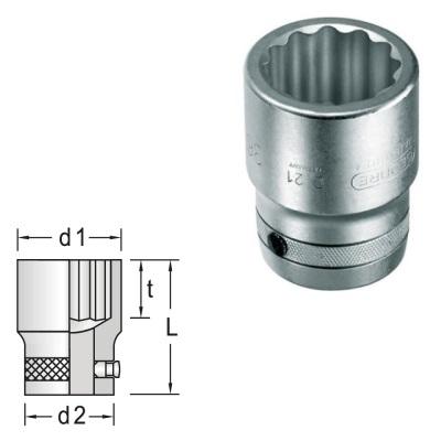 GEDORE D 21 2.7//16AF Socket 1 2.7//16